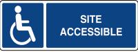 Site accessible pour personne a mobilite reduite